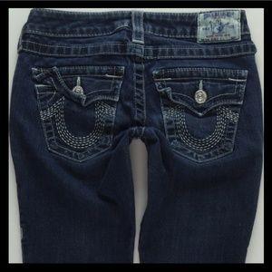 True Religion Skinny Stretch Jeans Women's 26 #238